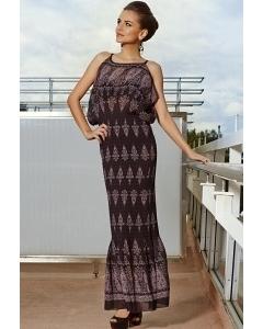 Длинное летнее платье TopDesign Premium PA4 08