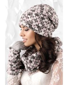 Комплект шапка+снуд+перчатки Kamea Merano