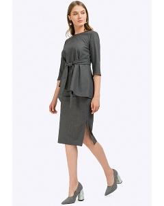 Деловая юбка прямого силуэта Emka S750/kigali