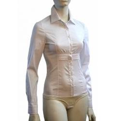 Белая женская блузка Golub | Б633-724