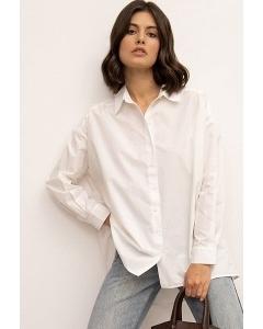 Прямая оверсайз-рубашка Emka B2558/crisp