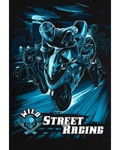 Мужская клубная футболка Wild Street Racing