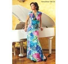 Длинное летнее платье V&V