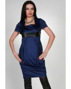 Стильное темно-синее платье Chertina&Durre