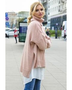 Женский свитер oversize Fobya F551