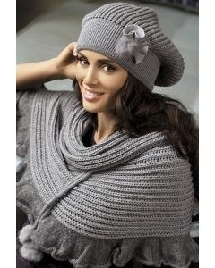 Комплект (берет+шарф) Kamea Fatima