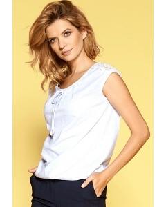 Летняя блузка без рукавов Zaps Roda