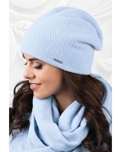 Светло-голубая шерстяная шапка Kamea Macerata