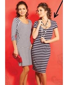 Платье-тельняшка TopDesign A5 096