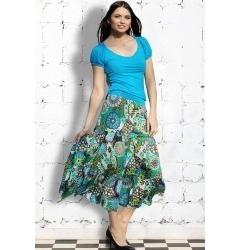Длинная юбка из 100% хлопка