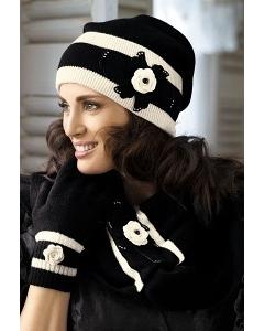 Комплект шапка и шарф Kamea Rosalia