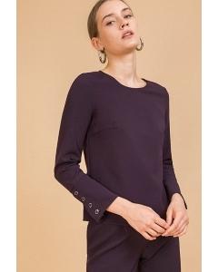 Блузка прямого кроя Emka B2423/dark