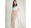 Шикарная юбка-карандаш Emka S921/faint