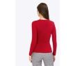 Трикотажная блузка красного цвета Emka B2448/marisa