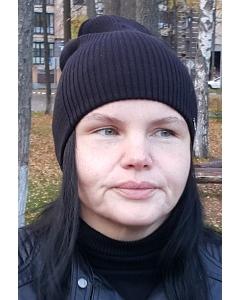 Бежевая молодёжная шапка Kamea Neva