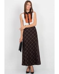 Длинная шерстяная юбка Emka Fashion 314-grammy