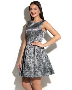 Коктейльное платье из жаккардовой ткани Donna Saggia DSP-223-72