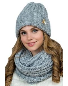 Тёплый комплект шапка + снуд Landre Росана