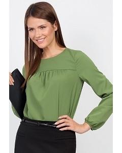 Блузка с длинным рукавом Emka Fashion b 2108/leniana