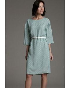 Легкое платье в мелкий горошек Emka PL1042/open