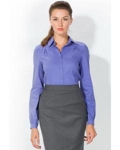 Сиреневая женская рубашка   4666
