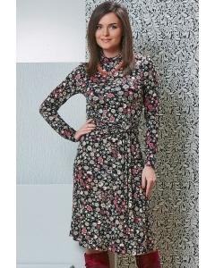 Платье с длинным рукавом TopDesign B4 096