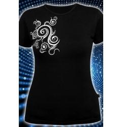 Облегающая клубная футболка Ice Fire