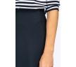 Длинная в пол юбка тёмно-синего цвета Emka S314/shelbi купить в интернет-магазине