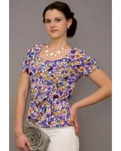 Блузка с коротким рукавом Golub | Б294-2006