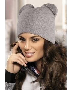 Женская шапка с ушками Kamea Betty