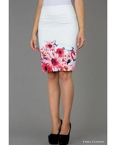 Летняя юбка Emka Fashion 391-lamb