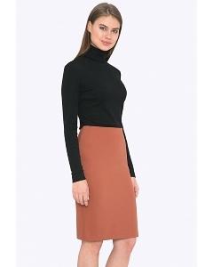 Женская юбка терракотового цвета Emka 663/terracota