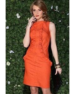 Оранжевое платье Apple Dress | 702ORANGE