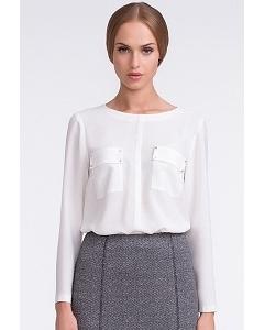 Белая блузка Sunwear U19