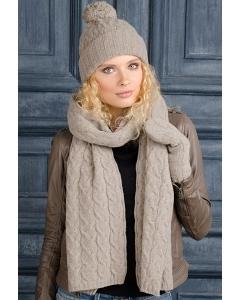 Комплект шапка + шарф SuperShapka Fox