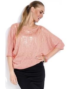 Блузка персикового цвета Zaps Tanita