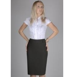 Чёрная юбка Emka Fashion
