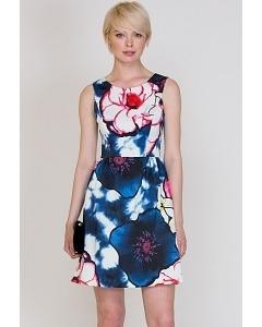 Летнее хлопковое платье Emka Fashion PL-426/vidana