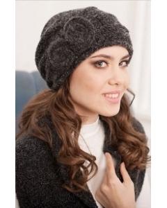 Комплект (шапка+шарф) черного цвета Landre Тамара