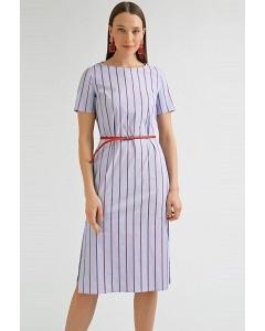 Платье-миди в полоску Emka PL832/lawrence