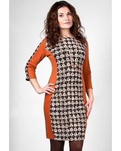 Трикотажное платье Golub П241-2198-2222