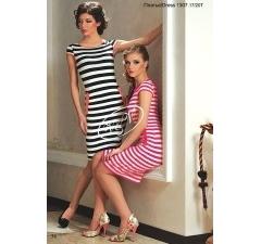Платье-тельняшка V&V