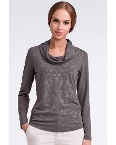 Блузка серого цвета Sunwear U20