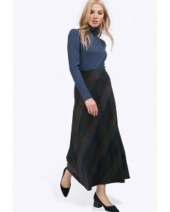 Длинная юбка с геометрическим принтом Emka S314/roxana