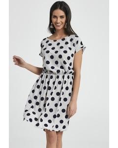 Лёгкое летнее платье в горох Ennywear 250085