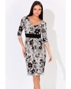 Стильное черно-белое платье (коллекция 2012) | 1649