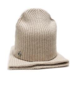 Теплый комплект шапка и снуд Landre Текла