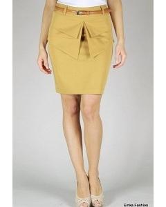 Юбка с баской Emka Fashion | 359-urbina