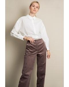Вельветовые брюки макси Emka D163/sempit