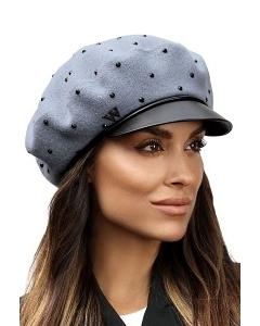 Стильная женская кепка из шерсти Willi Nonas